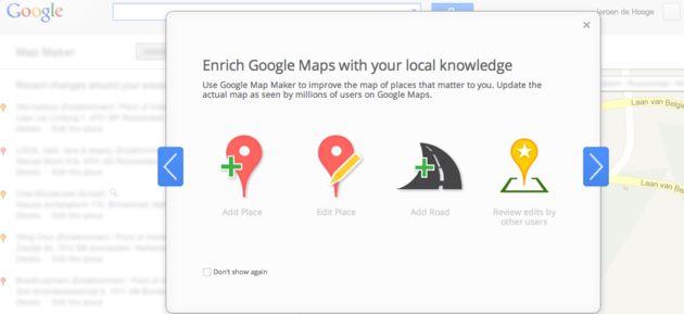 Google Map Maker nu beschikbaar in Nederland & België