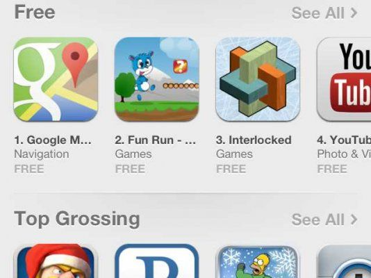 Google Maps is al de nummer een app op de iPhone