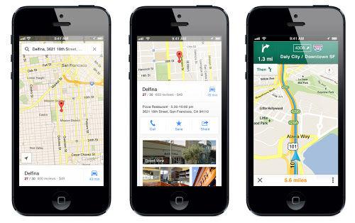 Google Maps keert terug op de iPhone