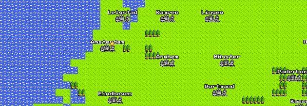 Google Maps voor de NES en Gameboy