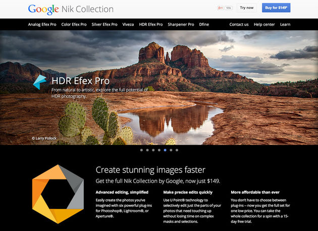 google-nik-collection