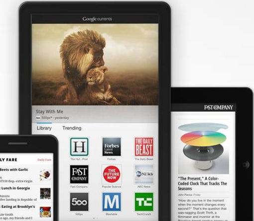 Google omhelst oude media met Google Currents