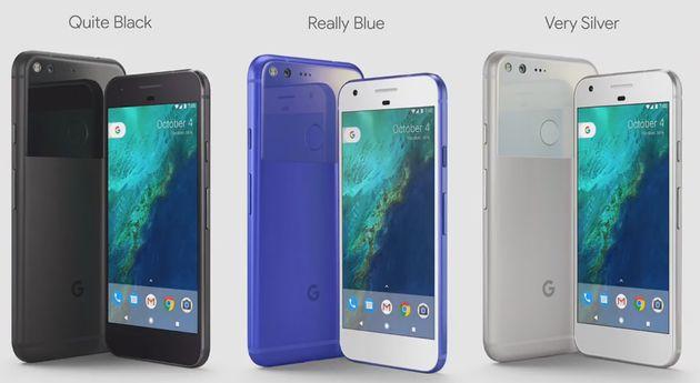 Google-Pixel-Kleuren