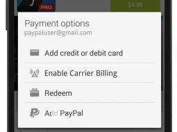 Google Play betalingen voortaan ook via PayPal