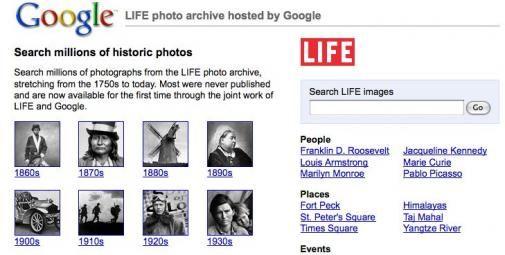 Google publiceert 10 miljoen Time-Life foto's