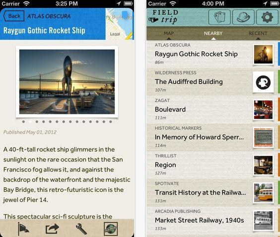 Google's Field Trip app gelanceerd voor iOS