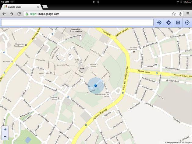 Google Street View nu ook beschikbaar in web app