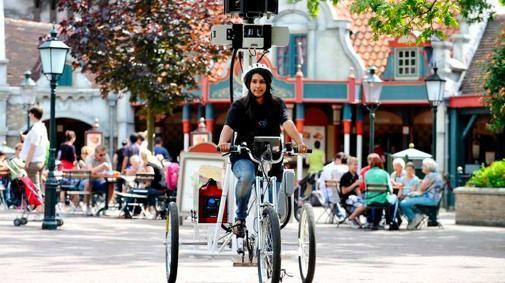 Google Street View Trike start bij Efteling