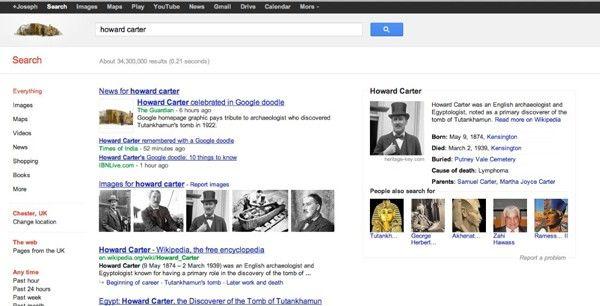 "Google test ""semantic search"""