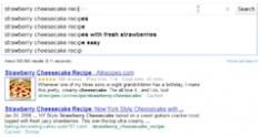 Google test update zoekresultaten tijdens het typen