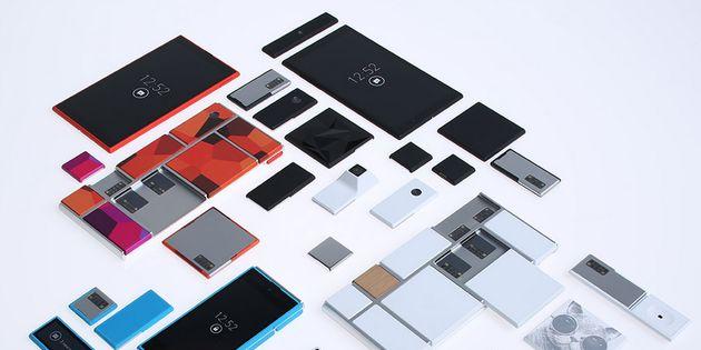 Google toont nieuwe designs voor de Modulaire Smartphone