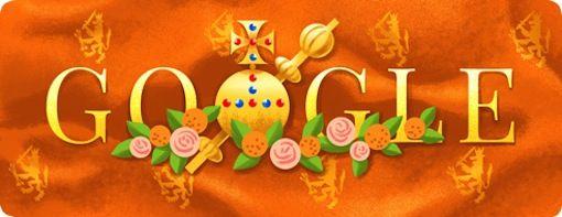 Google viert Koningsdag