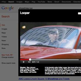 Google voegt filmtrailers toe aan zoekresultaten