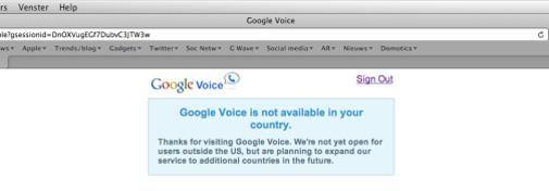 Google Voice uitnodiging!