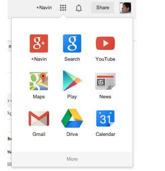 Google wijzigt haar producten toolbar