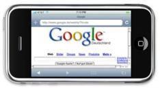 Google ziet internet op mobiel stijgen