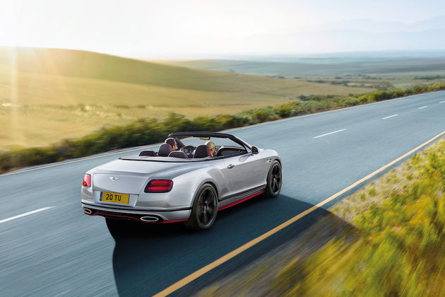 GT Speed Black Edition convertible