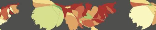Heatmap maakt geluk Amerikaanse Twitteraars inzichtelijk