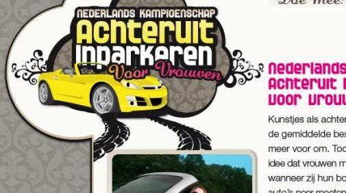 Hertz viral:'NK Achteruit Inparkeren Voor Vrouwen'