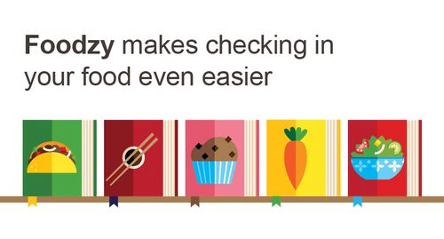 Het bijhouden van eetgewoonten is met Foodzy nu nog makkelijker