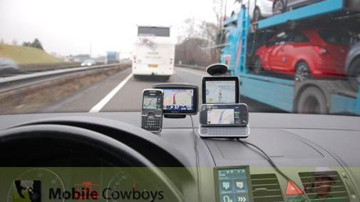 Het dashboard van een MobileCowboy