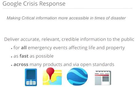 Het Google Crisis Response Team