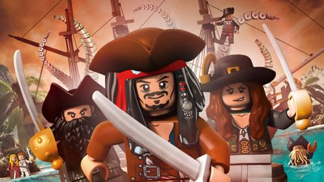 Het is goed toeven bij LEGO Pirates Of The Caribbean: The Video Game