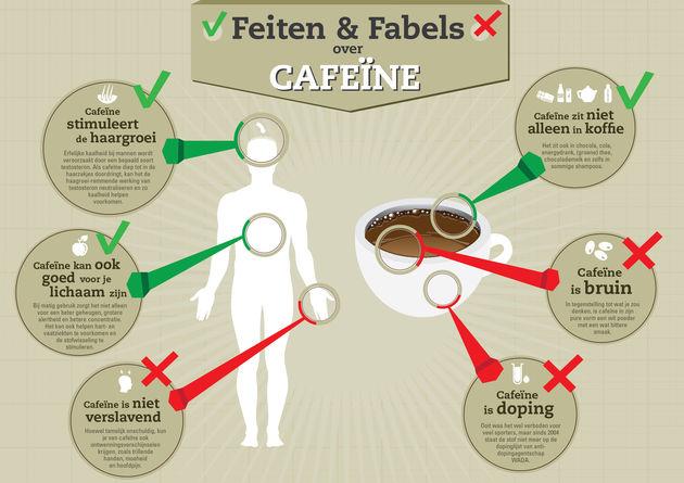 Het meest gebruikte stimulerende middel ter wereld: Cafeïne