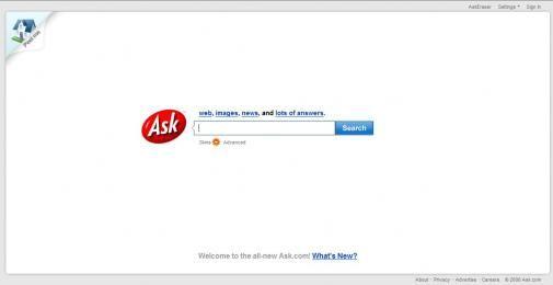 Het vernieuwde Ask.com
