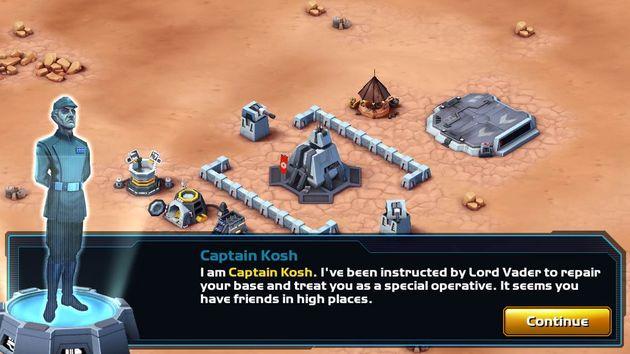 Start Wars: Commander
