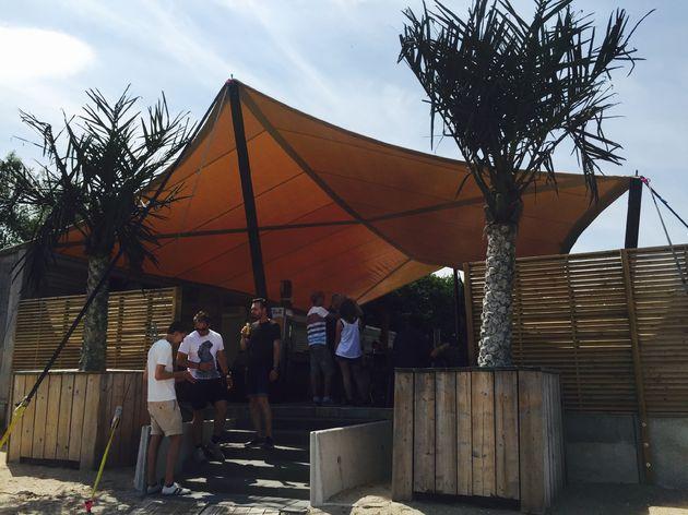 Press-area Beachclub