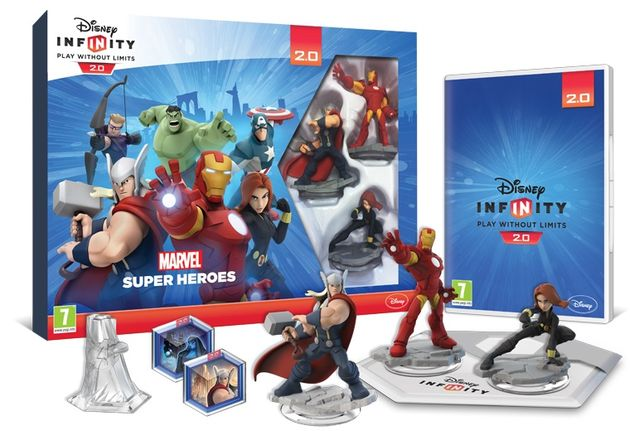 Disney Infinity 2.0 Marvel Playset