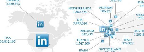 Infographic: Hoe staat LinkedIn er voor?