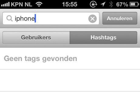 Instagram blijft actief bepaalde hashtags blokkeren