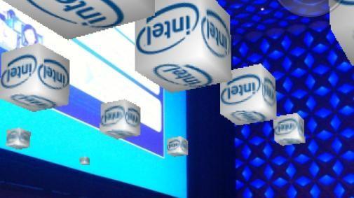 Intel voert virtuele reclame met 7 miljard kubussen