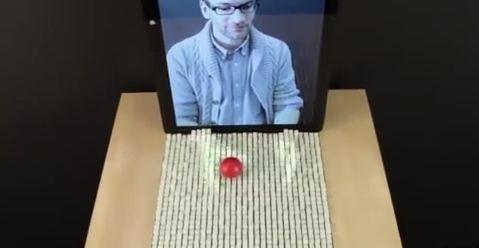 Interface zet bewegingen en objecten om in 3D projecties