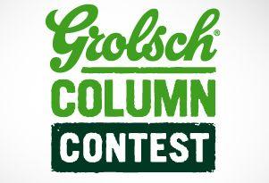 internationale PR-prijs voor de Grolsch Column Contest