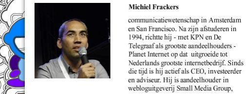 Interview Michiel Frackers over Eday'08