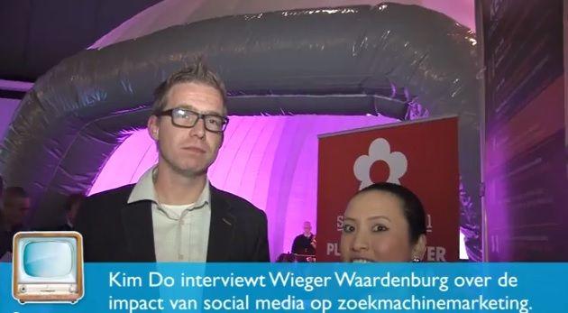 Interview  Wieger Waardenburg over effect social op zoekmachinemarketing