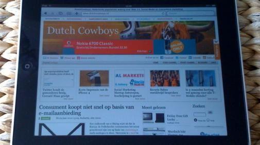 iPad gebruikers bereid te betalen voor content