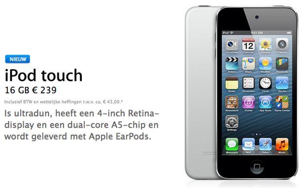 iPod touch 100 miljoen keer verkocht