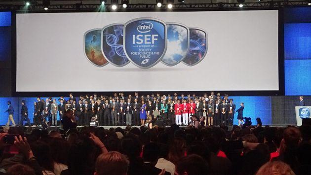ISEF2015 INTEL Grand Award Ceremonie Categorie winners