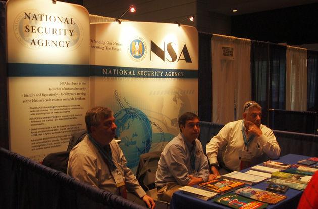 ISEF2015 INTEL NSA stand