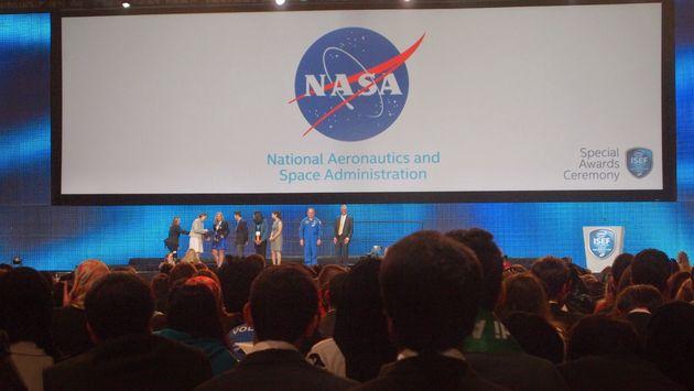 ISEF2015 INTEL Special Award Ceremonie NASA