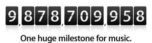 Itunes richting de 10 miljard downloads