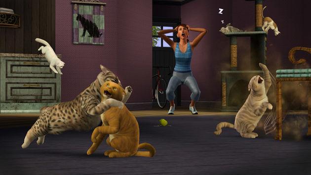 Je krijgt heel veel terug van de Sims: Beestenbende