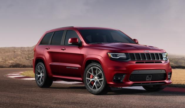 Jeep Grand Cherokee 2018 >> Jeep Grand Cherokee Trackhawk, dit is de snelste SUV ooit