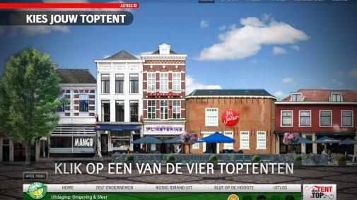 'Jouw tent is top' op Heineken.nl