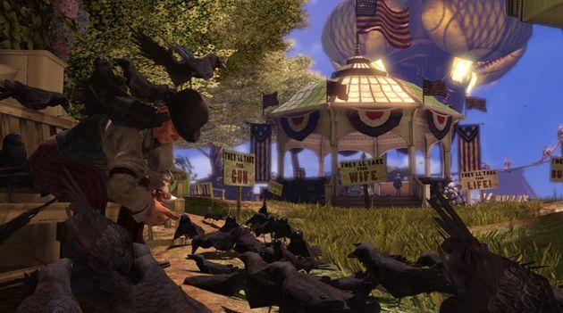 Kijk zelf de Bioshock Infinite gameplay video
