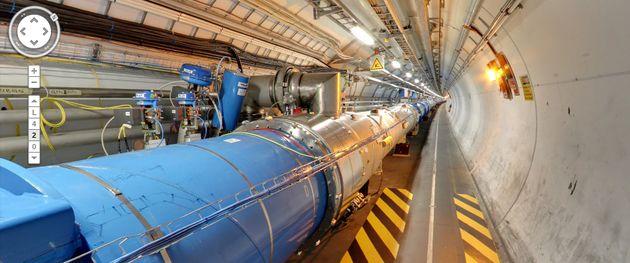 Kijken bij CERN, met Google Street View
